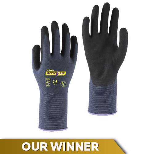 Towa ActivGrip Advance TOW581 Nitrile-Coated Gloves