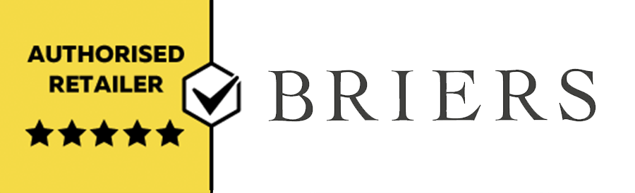 We are an authorised Briers reseller