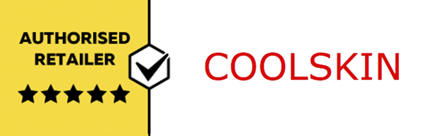 We are an authorised Coolskin reseller