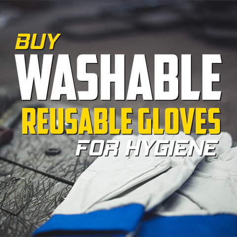 Buy Reusable Washable Gloves for Hygiene Control