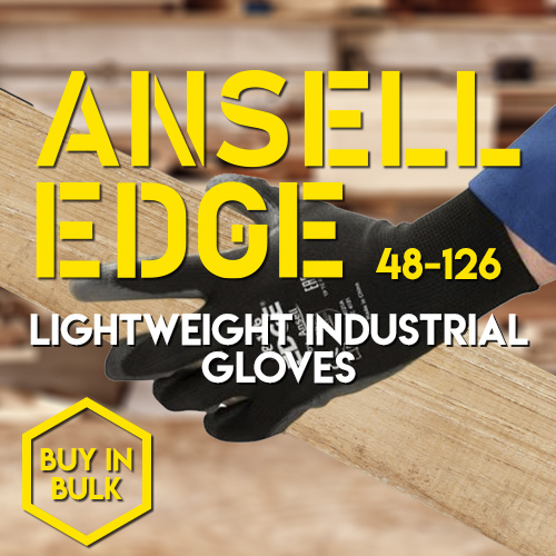 Save Money on Light Handling Ansell Edge Gloves When You Bulk Buy