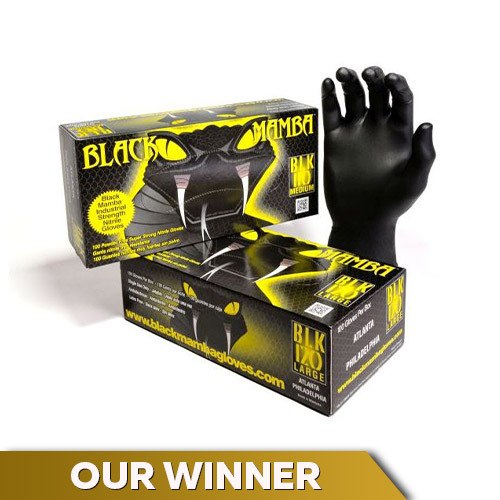 Black Mamba Disposable Nitrile Gloves