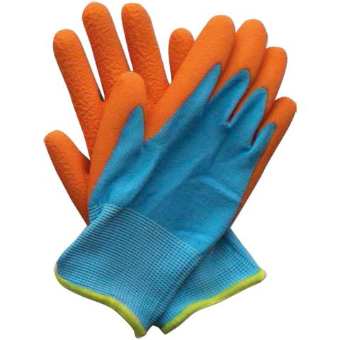 Briers Kids Junior Digger Orange and Blue Gardening Gloves B6987