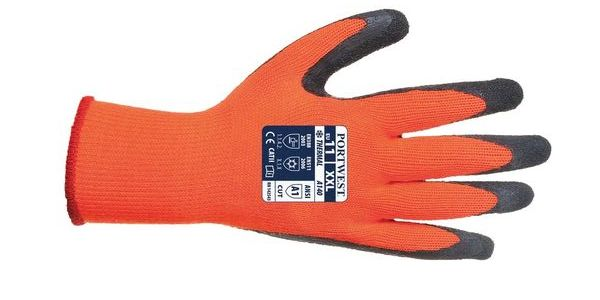 The Portwest A140 Gloves are ideal for cold, wintry work