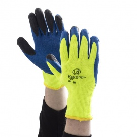 KoolGrip Yellow Grip Gloves Ideal for Building