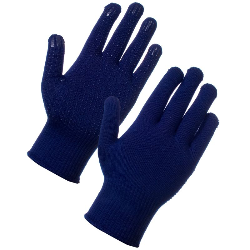 Supertouch Superthermal Gloves - PVC Dot 27413
