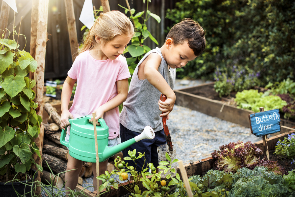 Gardening is essential for your child's development