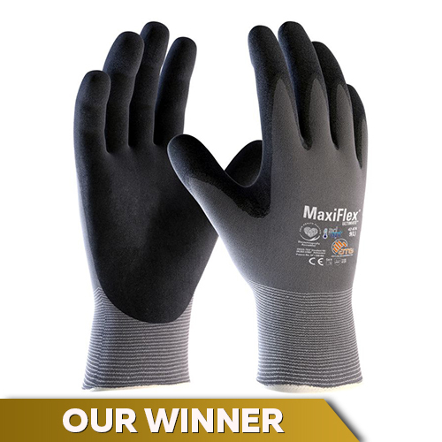 Maxiflex Ultimate Palm-Coasted Handling Gloves