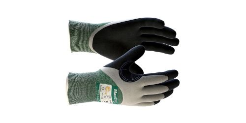 MaxiCut Oil Resistant Level 3 3/4 Coated Grip Gloves 34-305