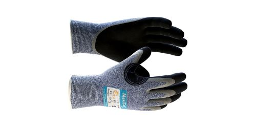 MaxiCut Oil Resistant Palm Coated Grip Gloves 34-504