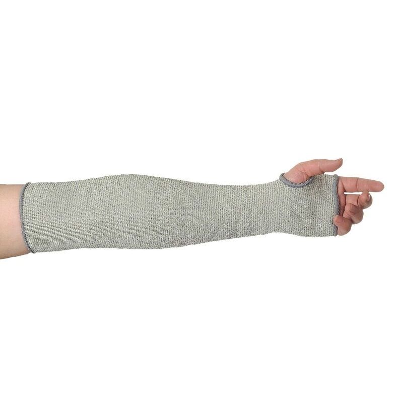 Portwest 45cm Cut-Resistant HPPE Grey Sleeve A690GR