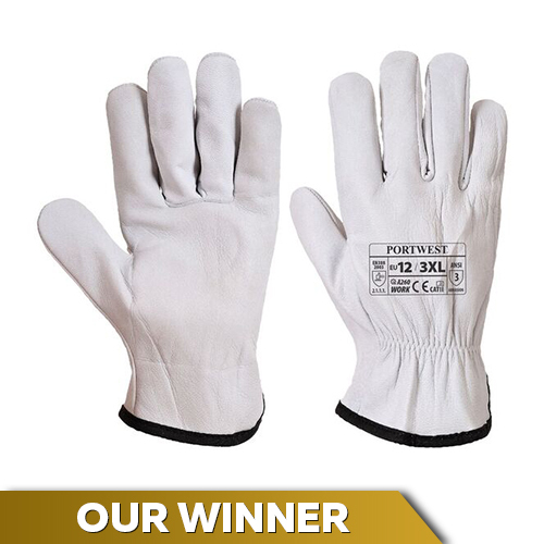 Portwest A260 Oves Driver Leather Gloves