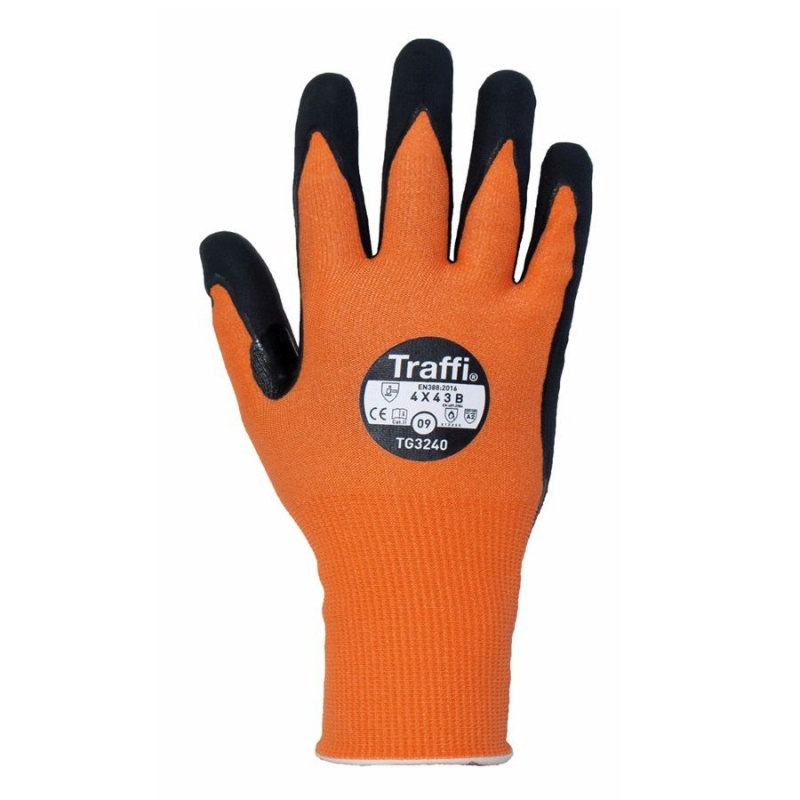 TraffiGlove TG3240 LXT Cut Level B Heat-Resistant Gloves