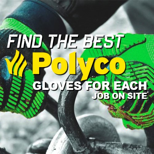 Find the perfect glove for every job on site!