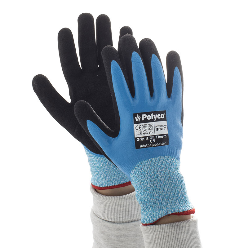 Polyco Grip It Oil Therm C5 Gloves