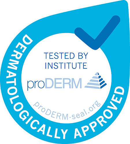 Tested by the proDerm Institute