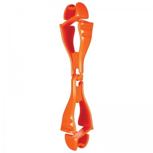 Ergodyne Squids 3400 Orange Dual Grabber Clip