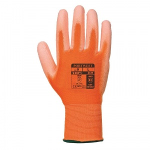 Portwest Orange PU Palm Gloves A120O1 (Case of 480 Pairs)