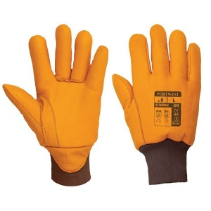 Portwest Leather Insulatex Cold Store Gloves A245