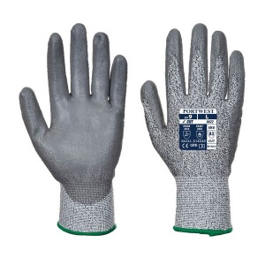 Portwest A622 Level 5 Cut-Resistant PU Coated Gloves (Case of 144 Pairs)