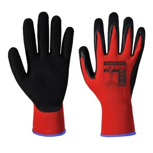 Portwest Red PU Coated Gloves A641 (Case of 144 Pairs)