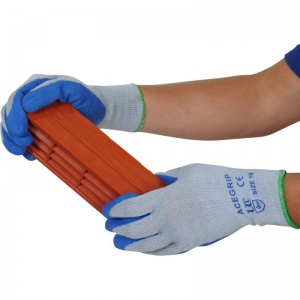 AceGrip Blue General Purpose Latex Coated Gloves