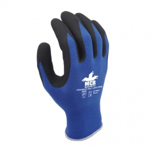 MCR Safety GP1006LF Coolmax Latex Foam Palm Coated Safety Gloves