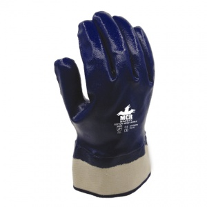 MCR Safety GP1050NT3 Cotton Jersey Nitrile Fully Coated Safety Gloves