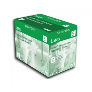 Hand Safe GS21 Sterile Powder-Free Latex Examination Gloves