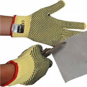Heavyweight PVC Dotted Kevlar Gloves KKH7DD