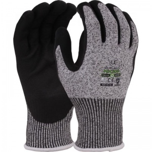 Kutlass Nitrile Palm-Coated Cut-Resistant Gloves NX-500