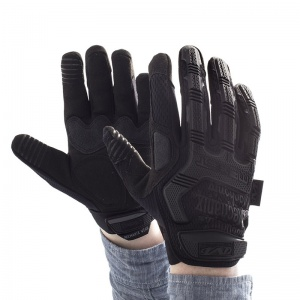 Mechanix Wear M-Pact Black Covert Impact Gloves
