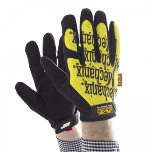Mechanix Wear Original Yellow Gloves