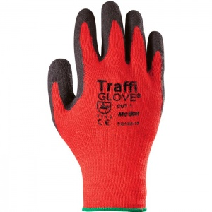 TraffiGlove TG165 Motion Natural Rubber Coated Cut Level 1 Handling Gloves
