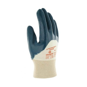 Marigold Industrial Nitrotough N230B 3/4-Dipped Nitrile-Coated Gloves