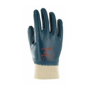 Marigold Industrial Nitrotough N250B Nitrile-Coated Gloves