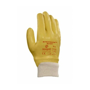 Marigold Industrial Nitrotough N250Y Nitrile-Coated Gloves