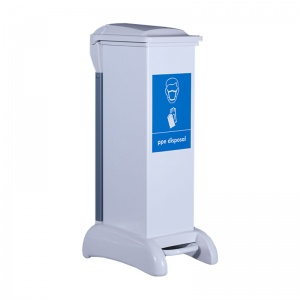 Wybone Hybrid Sackholder PPE Disposal Unit (28 Litre)