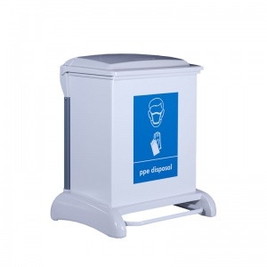 Wybone Hybrid Sackholder PPE Disposal Unit (42 Litre)