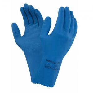 Ansell Universal Plus 87-665 Chemical-Resistant Gauntlet Gloves