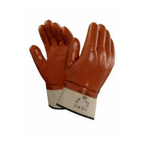 Ansell 23-193 Winter Monkey Grip Thermal-Lined Vinyl-Dipped Work Gloves