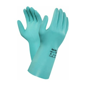 Ansell AlphaTec Solvex 37-676 Nitrile Chemical-Resistant Gauntlets