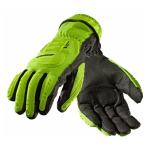 Ansell ActivArmr 46-551 Hi-Viz Kevlar Extraction Grip Work Gloves
