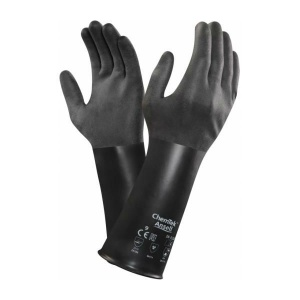 Ansell AlphaTec 38-520 Butyl Chemical-Resistant Gauntlet Gloves