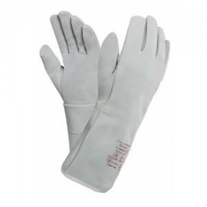 Ansell Comasec Calorproof Molleton 2 Heat-Resistant Gauntlet Gloves