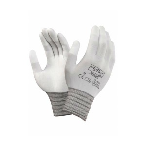 Ansell HyFlex 11-605 Fingertip-Coated Precision Work Gloves
