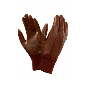 Ansell 52-502 Hyd-Tuf Jersey-Lined Nitrile Work Gloves