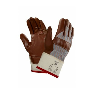 Ansell 52-590 Winter Hyd-Tuf Jersey-Lined Nitrile Work Gloves