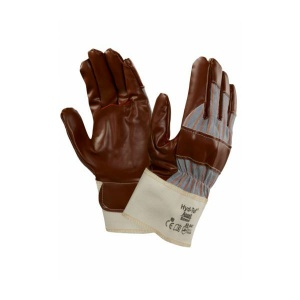 Ansell 52-547 Hyd-Tuf Jersey-Lined Gunn Cut Work Gloves