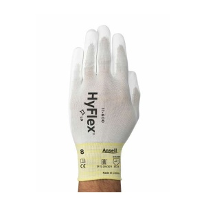 Ansell HyFlex 11-600 Palm-Coated Precision Work Gloves